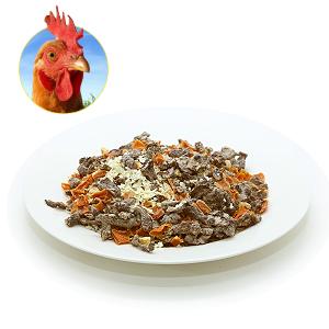 natur futter ch trockenbarf mit pouletfleisch ideal als barfersatz f r unterwegs oder im urlaub. Black Bedroom Furniture Sets. Home Design Ideas